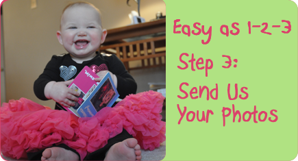 Easy as 1-2-3, Step 3: Send Us Your Photos