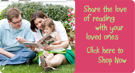 Share the love of reading with your loved ones