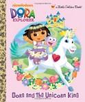 Dora-and-the-Unicorn-King-Dora-the-Explorer-Little-Golden-Book-0