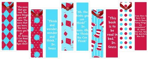 Dr. Seuss Quotes: Free Printable Bookmarks   Hullabaloo Stories ...